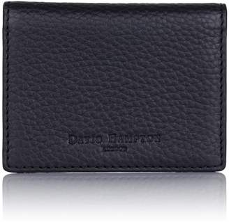 Richmond David Hampton Leather ID Card Holder In Slate Grey
