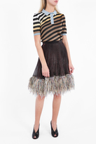 Marco De Vincenzo Feather Skirt