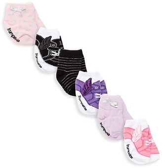 Trumpette Piper Five-Pack Ankle Socks