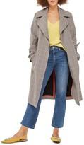 Topshop Petite Women's Dree Raw Hem Crop Jeans