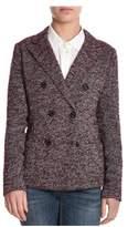 Eleventy Women's Red Wool Blazer.