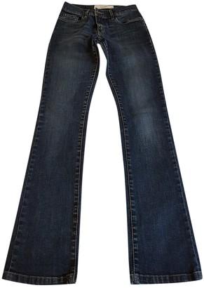 Tara Jarmon Blue Cotton - elasthane Jeans for Women