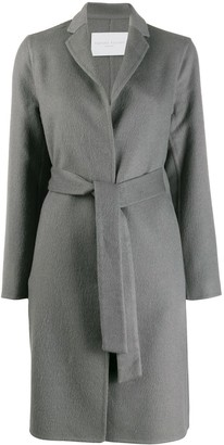 Fabiana Filippi Belted Single-Breasted Coat