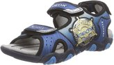 Geox J Sand. Strike A Lighted Light Up Open Toe Sandals