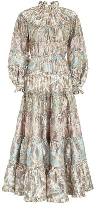 Zimmermann Ladybeetle Spliced Dress