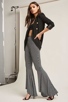 Forever 21 Striped Flare Pants