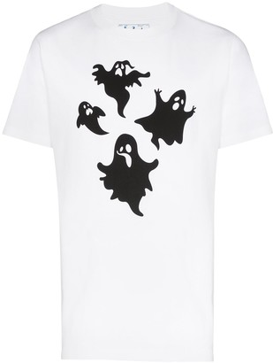 Off-White ghost-print T-shirt