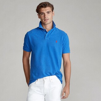 Polo Ralph Lauren Cotton Pique Polo Shirt in Slim Fit