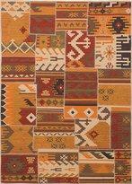 Ecarpetgallery eCarpet Gallery 220975 Hand-Woven Moldovia Patchwork 5' x 7' 100% Wool Area Rug