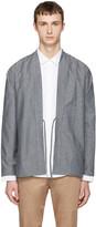 Naked & Famous Denim SSENSE Exclusive Grey Kimono Shirt