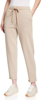 Eileen Fisher Organic Cotton French Terry Ankle Track Pant