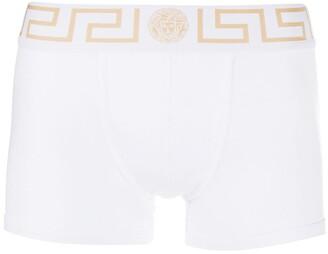 Versace Medusa Greek Key waistband boxer shorts