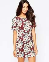 Yumi Floral Print Shift Dress