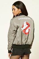 Forever 21 FOREVER 21+ Ghostbusters Bomber Jacket