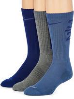 Nike 3-pk. Dri-FIT Fly-Rise Crew Socks - Big & Tall