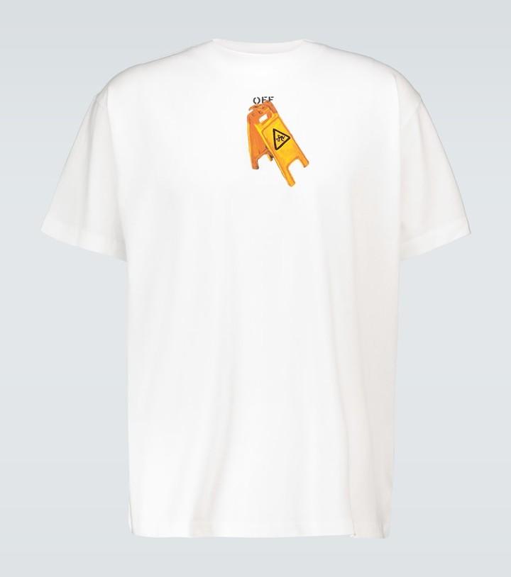 Off-White Pascal Skeleton cotton T-shirt