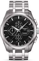 Tissot Couturier Men's Black Automatic Stainless Steel Watch, 43mm