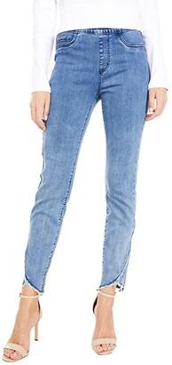 FDJ French Dressing Jeans Statement Denim Tulip Hem Pull-On Slim Ankle in Splendid Indigo (Splendid Indigo) Women's Jeans