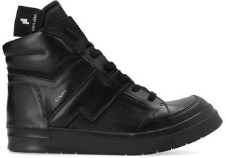 Cinzia Araia Structured Hi-Top Sneakers
