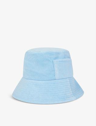 LACK OF COLOR Wave cotton-towelling bucket hat