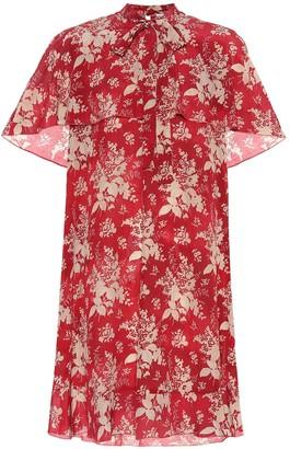 RED Valentino Silk-georgette minidress