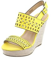 Charles by Charles David Womens Aloof Leather Open Toe Casual Platform Sandals.