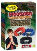 Creativity For Kids Myo Paracord Wristbands