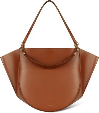 Wandler Mia Leather Tote Bag
