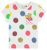 George Children in Need Sequinned Spot Print T-Shirt