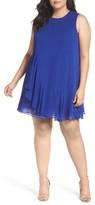 Eliza J Plus Size Women's Ruffled A-Line Dress