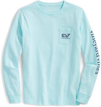 Vineyard Vines Ocean Whale Fill Long Sleeve T-Shirt