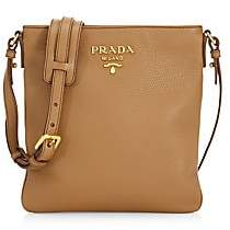 Prada Women's Small Diano Leather Crossbody Bag