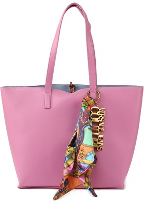 Versace Eco-leather Tote Bag With Foulard
