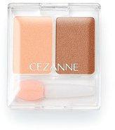 Cezanne Make Up 2 Color Eye Shadow - Natural