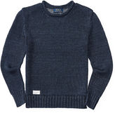 Ralph Lauren Linen Roll-Neck Sweater