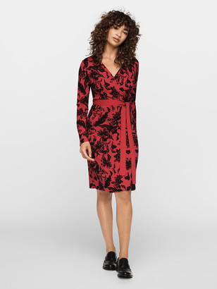 Diane von Furstenberg Luella Merino Wrap Dress