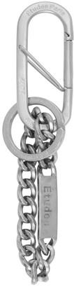 Études Silver Taipan Keychain