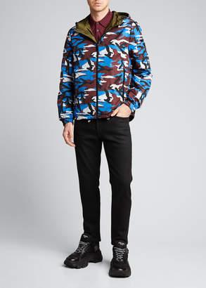 Prada Men's Reversible Zip-Front Nylon Jacket