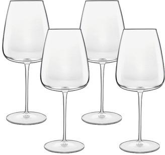 Luigi Bormioli Talismano Bordeaux Glass 700ml Set of 4