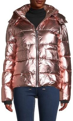 Nicole Benisti Down-Filled Hooded Jacket