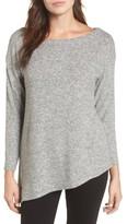 Gibson Women's Asymmetrical Cozy Fleece Top