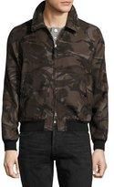 Tom Ford Camouflage Raglan Bomber Jacket