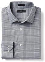 Banana Republic Grant-Fit Non-Iron Houndstooth Shirt
