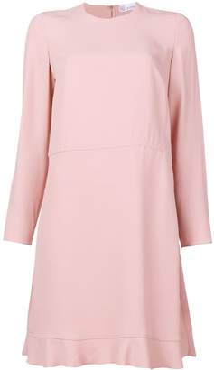 RED Valentino peplum hem shift dress
