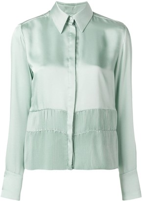 Victoria Victoria Beckham Pleated Detail Shirt