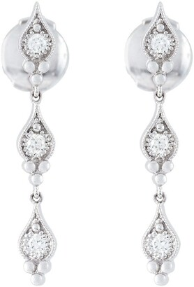 Stone 'Cry Me A River' diamond earrings