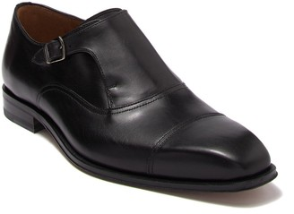 Mezlan Leather Monk Strap Loafer