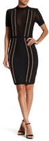 Wow Couture Mesh Chain Inset Bodycon Dress
