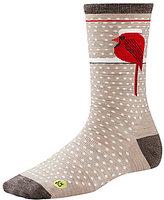 Smartwool Charley Harper Cool Cardinal Crew Socks