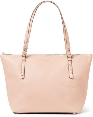 Kate Spade Polly Large Pebbled-leather Tote